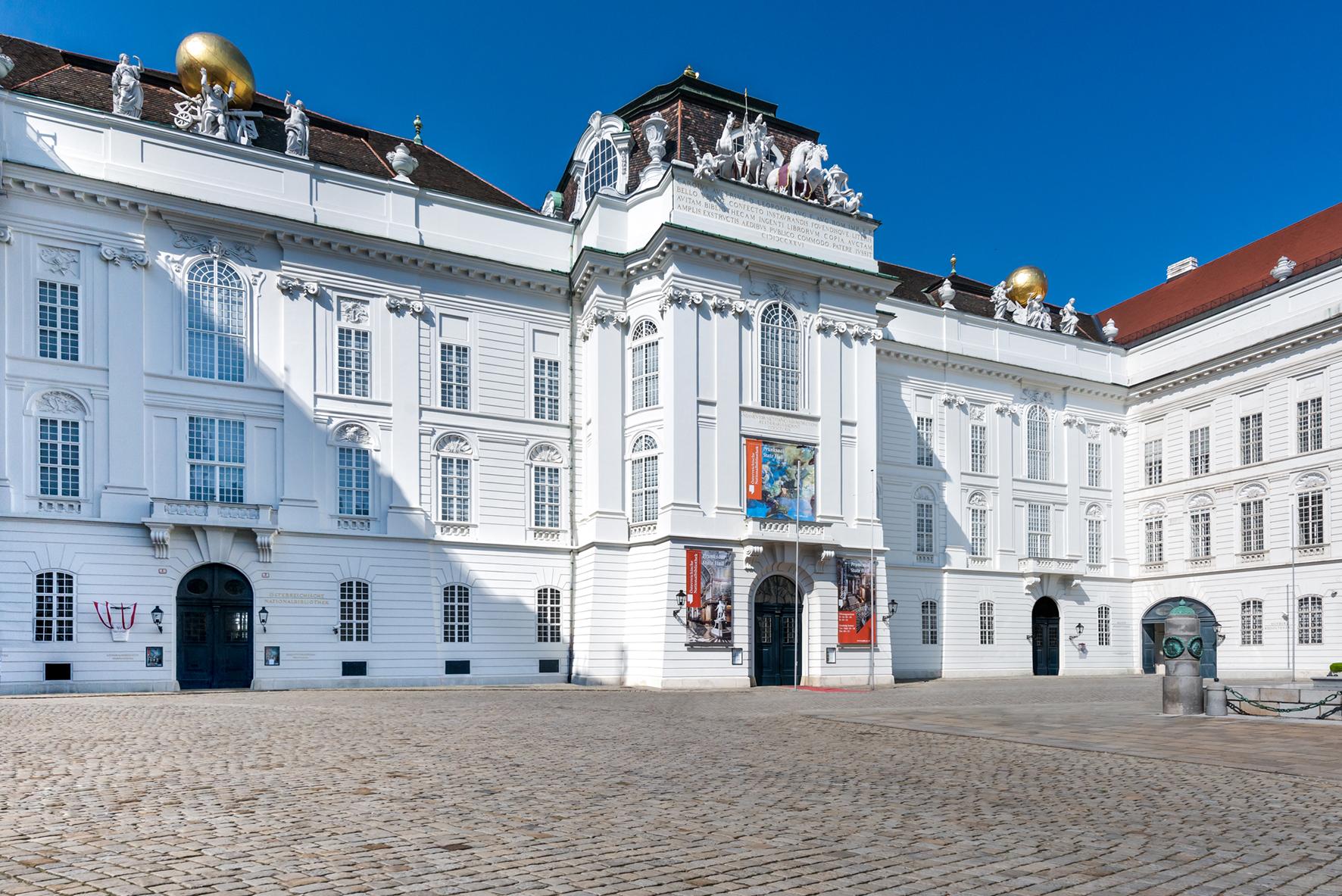 Josefsplatz 1, 1010 Wien © Österreichische Nationalbibliothek/Pichler